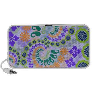 Floral Paisley Design Doodle iPod Speaker