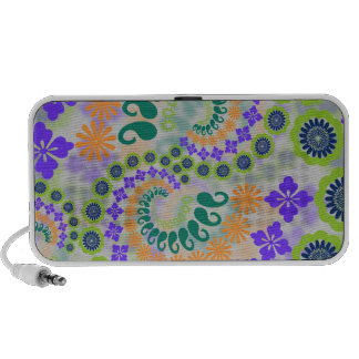 Floral Paisley Design Doodle Notebook Speaker