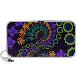 Floral Paisley Design Doodle Speaker