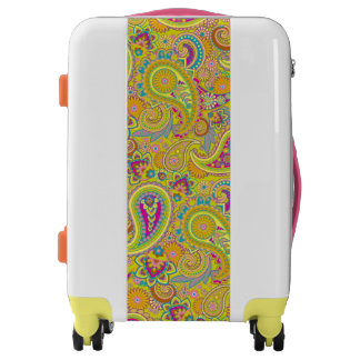 Floral Paisley seamless pattern I + your ideas Luggage