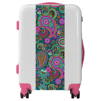Floral Paisley seamless pattern II + your ideas Luggage