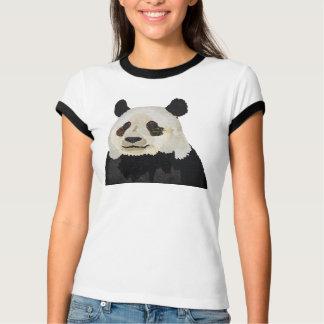 Floral Panda Apparel T-Shirt