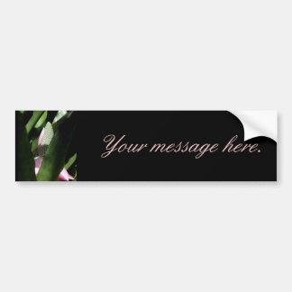 Floral Pastel Bumper Sticker