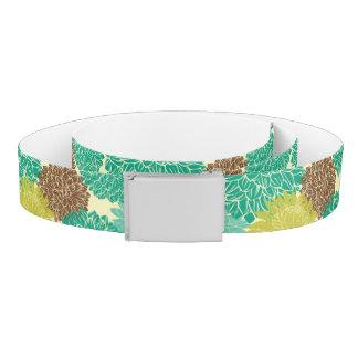 Floral Pattern 11 Belt
