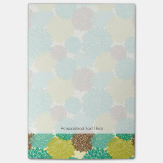 Floral Pattern 13 Post-it Notes