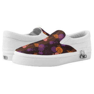 Floral pattern 2 2 printed shoes