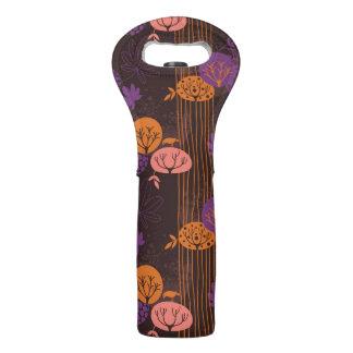 Floral pattern 2 2 wine bag