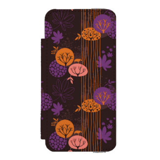 Floral pattern 2 3 incipio watson™ iPhone 5 wallet case