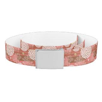 Floral pattern 2 belt