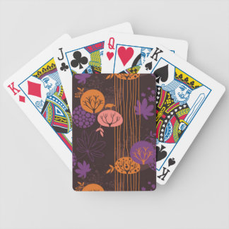 Floral pattern 2 bicycle playing cards