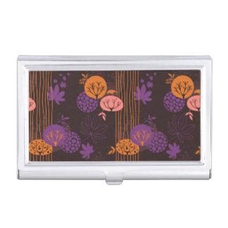 Floral pattern 2 business card holder