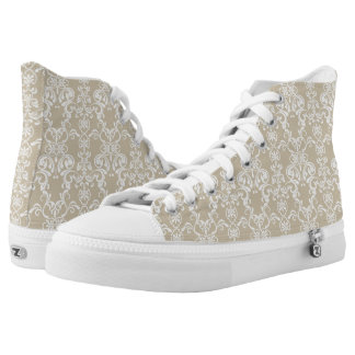 Floral Pattern 2 High Tops