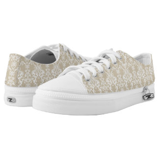 Floral Pattern 2 Low Tops