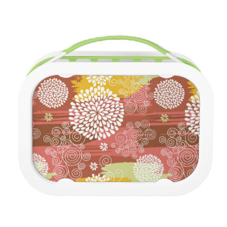 Floral pattern 2 lunch box