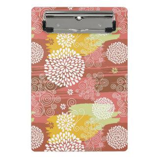 Floral pattern 2 mini clipboard