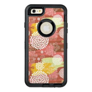 Floral pattern 2 OtterBox defender iPhone case