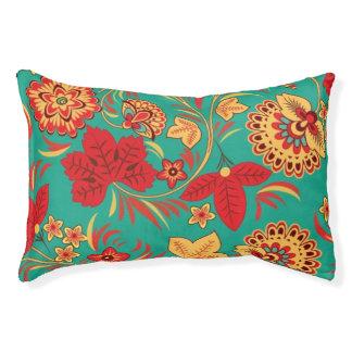 Floral pattern 2 pet bed