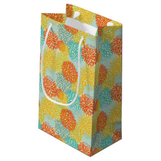 Floral pattern 3 small gift bag