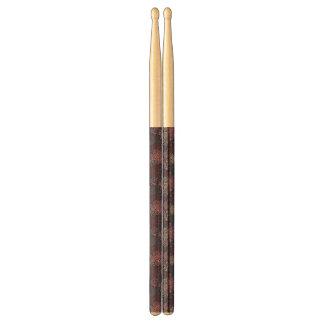 Floral pattern 4 2 drumsticks