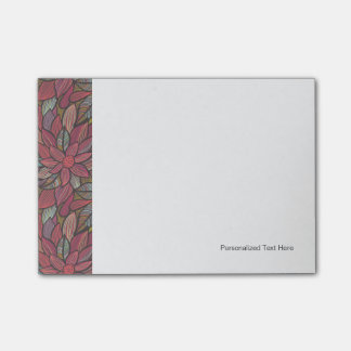 Floral pattern 4 2 post-it notes