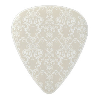 Floral Pattern 4 Acetal Guitar Pick