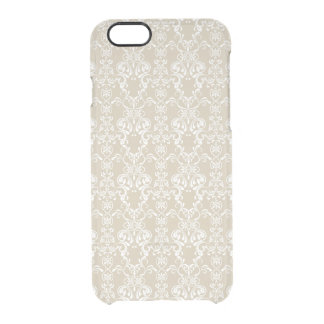 Floral Pattern 4 Clear iPhone 6/6S Case