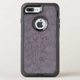 Floral Pattern 4 OtterBox Defender iPhone 8 Plus/7 Plus Case