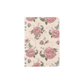 Floral pattern 5 2 passport holder