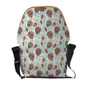 Floral pattern 5 courier bags