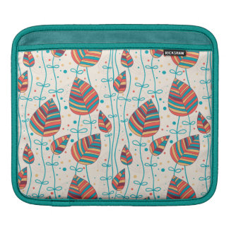 Floral pattern 5 iPad sleeve