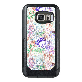 Floral Pattern 5 OtterBox Samsung Galaxy S7 Case