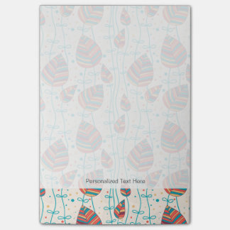 Floral pattern 5 post-it® notes