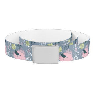 Floral Pattern 7 Belt