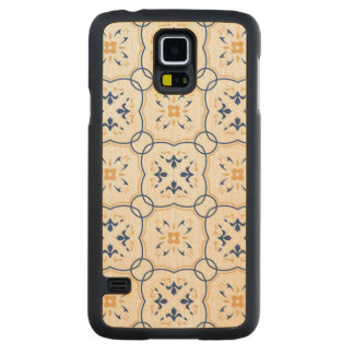 Floral Pattern 7 Carved Maple Galaxy S5 Case