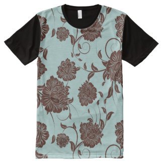 Floral Pattern 8 All-Over Print T-Shirt