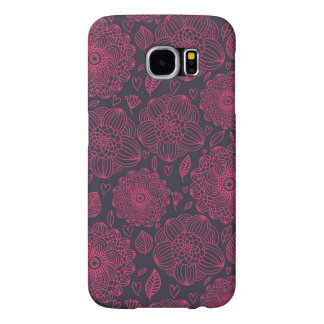 Floral Pattern 9 Samsung Galaxy S6 Cases
