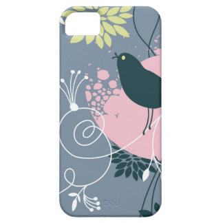 Floral Pattern Barely There iPhone 5 Case