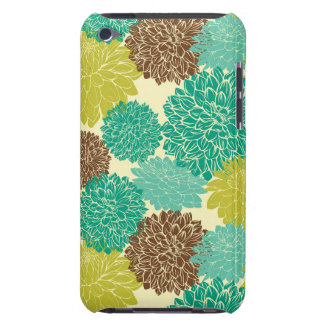 Floral Pattern Barely There iPod Cases