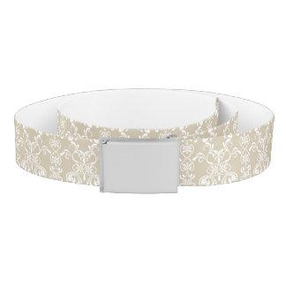 Floral Pattern Belt
