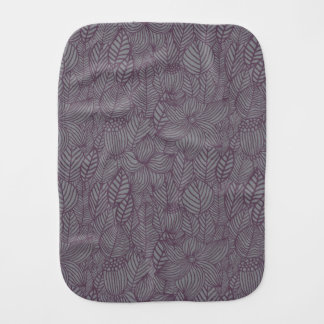 Floral Pattern Burp Cloth