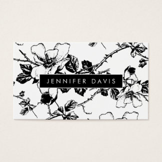 Floral Pattern Business Card