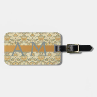 Floral Pattern by William Morris - Luggage Tag