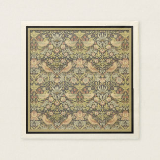 Floral Pattern by William Morris - Paper Napkins Paper Napkin