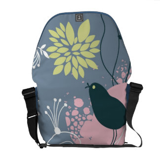 Floral Pattern Commuter Bags