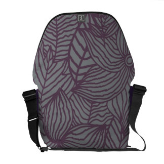 Floral Pattern Courier Bags