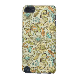Floral pattern: flowers and butterflies iPod touch (5th generation) case