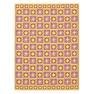 Floral Pattern geometric design Tablecloth