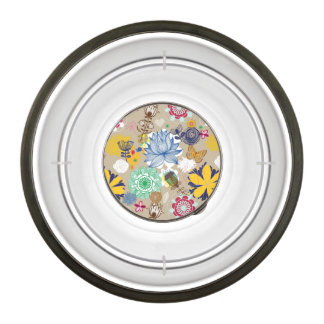 Floral pattern in retro style 3