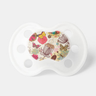 Floral pattern in retro style 4 dummy