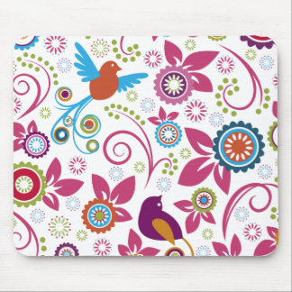 Floral Pattern Mousepads